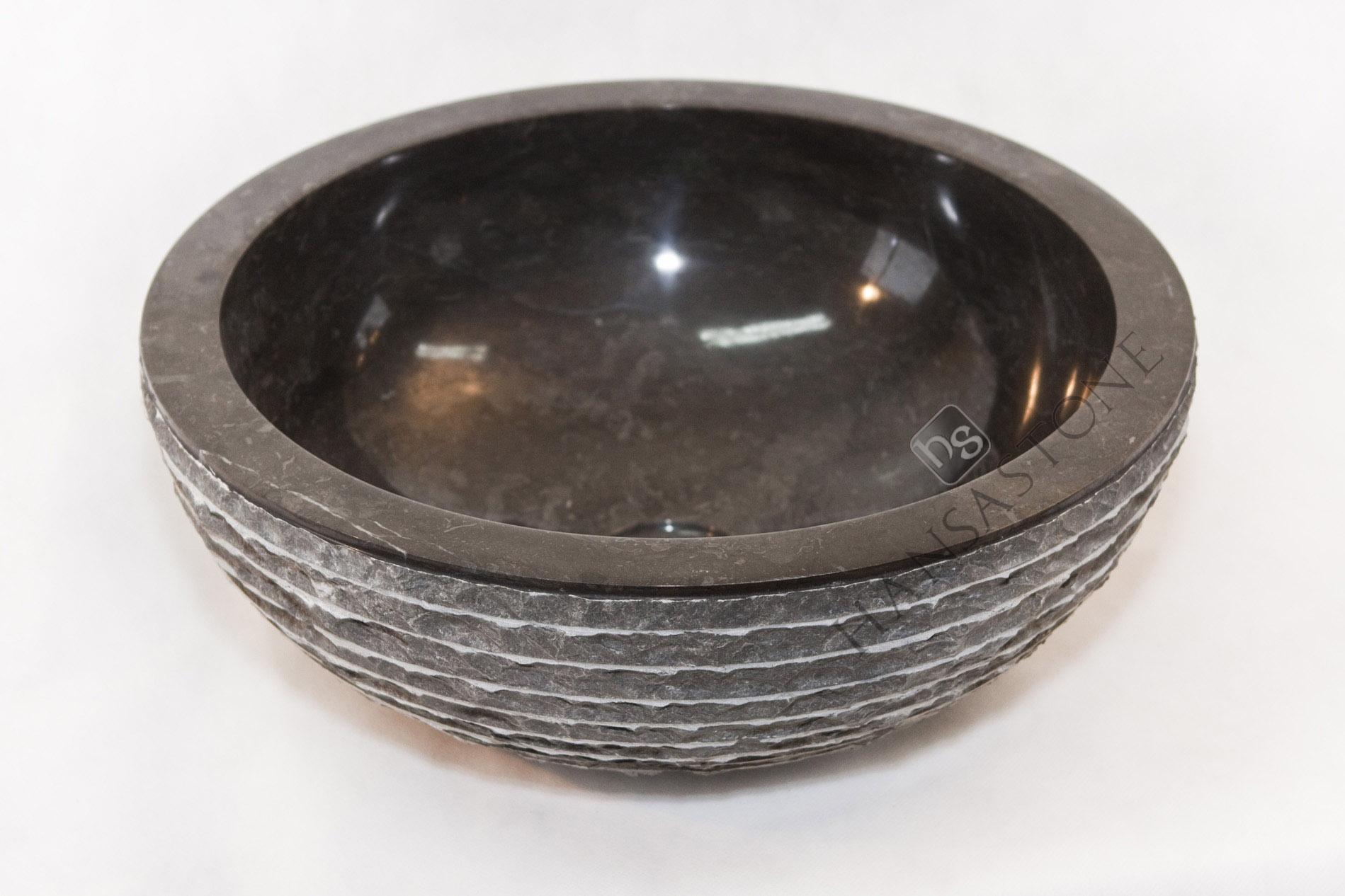 Umywalka kamienna JAVA BLACK