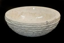 Umywalka kamienna JAVA WHITE