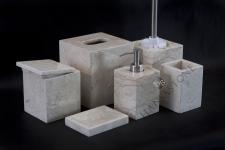Zestaw łazienkowy RITA WHITE