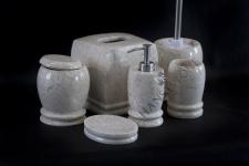 Zestaw łazienkowy TULANGA WHITE