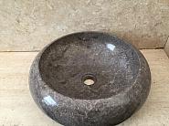 Umywalka nablatowa z kamienia naturalnego TULANGA GREY
