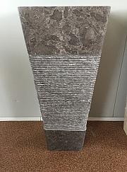 Umywalka stojąca z kamienia naturalnego KEDERI GREY