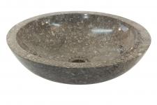 Umywalka kamienna nablatowa SUMBA GREY
