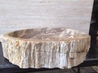 Umywalka kamienna nablatowa NATURAL STONE BIG