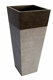 Umywalka stojąca z kamienna naturalnego LUVUS WHITE